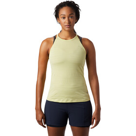 Mountain Hardwear Mighty Stripe Top sin Mangas Mujer, lantern